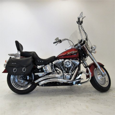 Pre-Owned 2008 Harley-Davidson Softail Fat Boy FLSTF